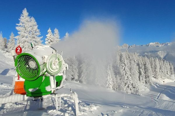 Sneeukanonnen in Ski Amadé