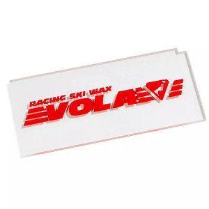 Ski wax set: schraper