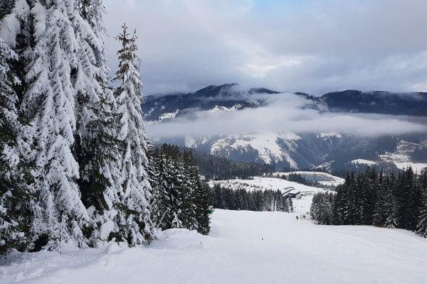 Zo veel sneeuw ligt er nu op de piste in Ski amadé - 1 dec. 2018