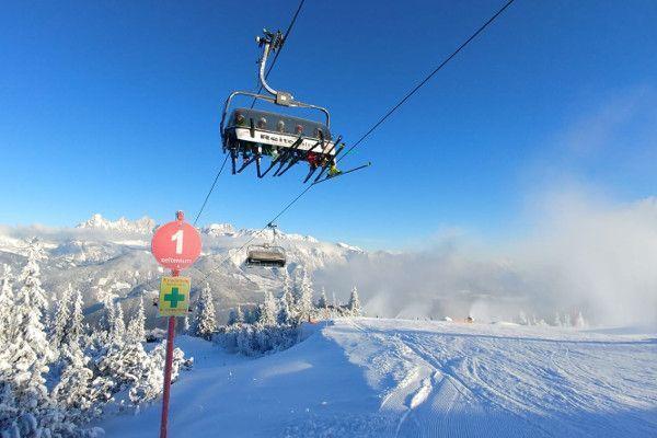 Reiteralm ski lift stoeltjeslift