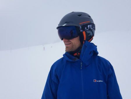 Review: Wed'ze meekleurende skibril Decathlon