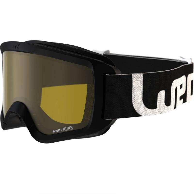 ski bril van decathlon, ideaal voor slecht weer - uitstekende prijs/kwaliteit verhouding