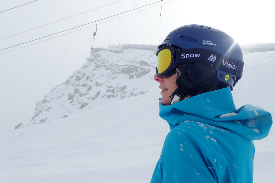 snowvision skibril op sterkte