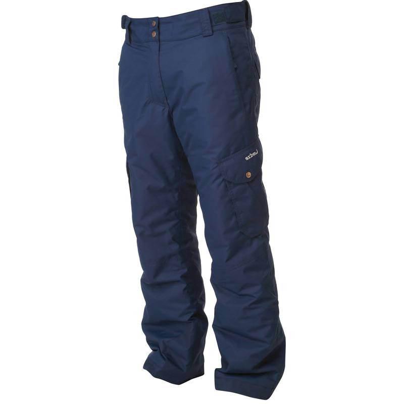 blauwe skibroek heren