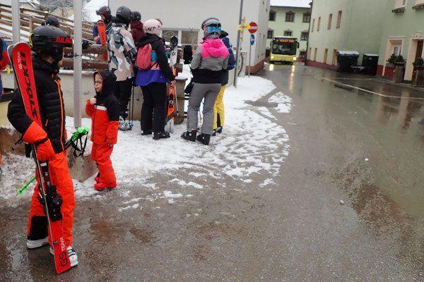 In Stubai rijdt een gratis skibus.