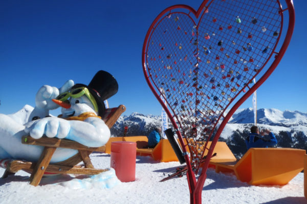 Wintersport in maart