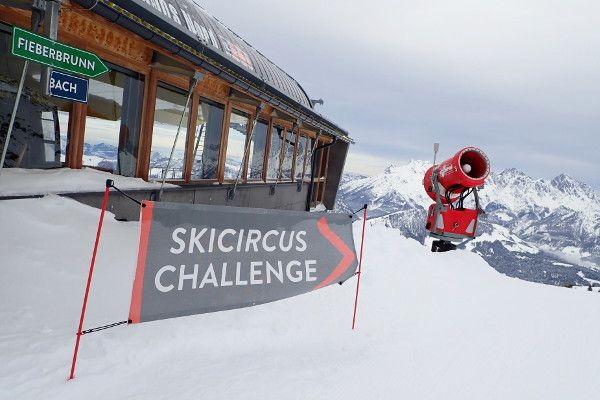 Skigebied Saalbach - The Challenge de langste skiroute in Saalbach