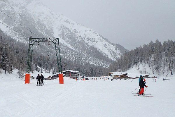 Skigebied voor beginners - Fulpmes