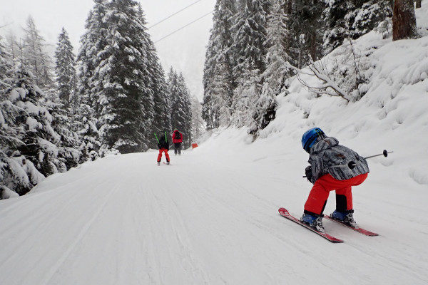 Axamer Lizums, skigebieden in de buurt van Innsbruck