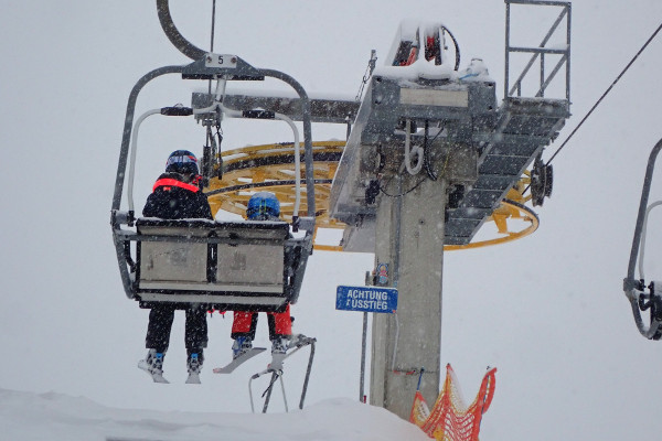 Skigebied bij Innsbruck - Nordkette