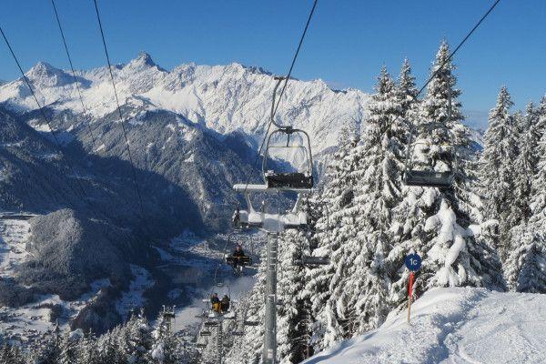 Skigebied dichtbij Nederland - Montafon