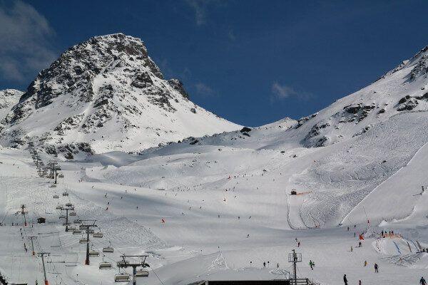 Het heerlijke skigebied van Ischgl.