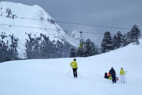 Kühtai is een rustig skigebied.
