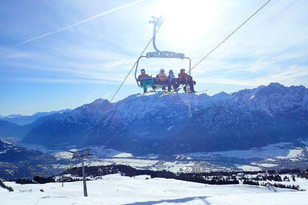 Heerlijk uitzicht in skigebied Lienz