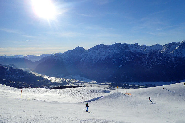 zoveel verschillende pistes in skigebied Lienz Zettersfeld.