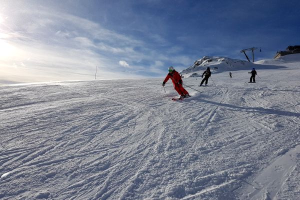 wintersport in skigebied Obertauern