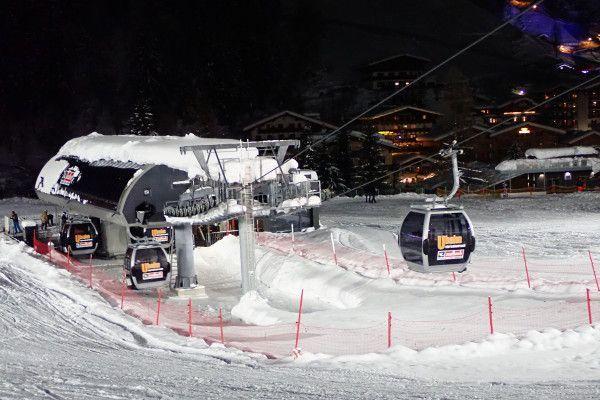 Skigebied Saalbach - nachtskiën