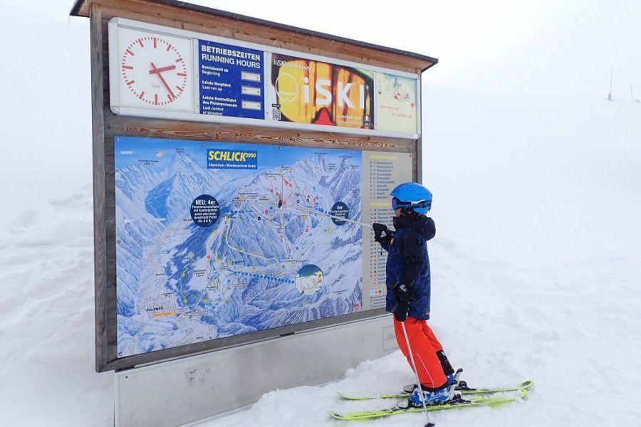 skigebied Schlick 2000 bij Innsbruck