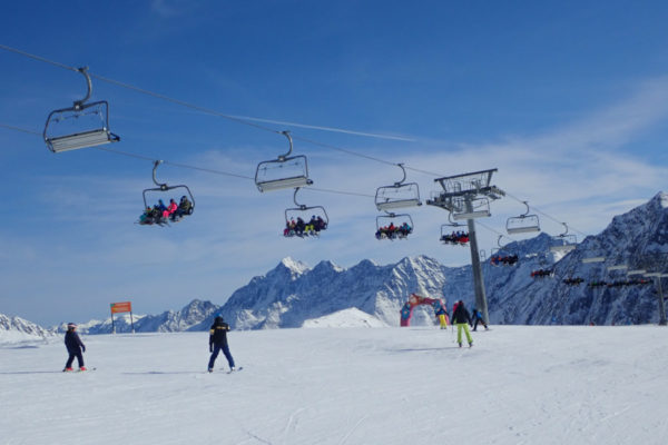 Skigebied beginners Oostenrijk