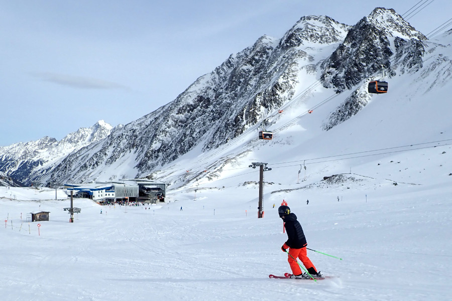 Leuke lange pistes in Oostenrijk