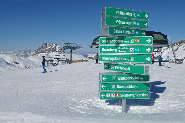 Wildkogel Arena is een overzichtelijk skigebied