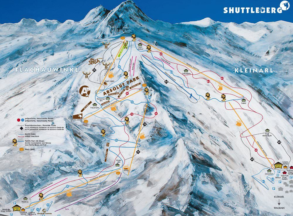 skigebied kleinarl - wintersport in Kleinarl