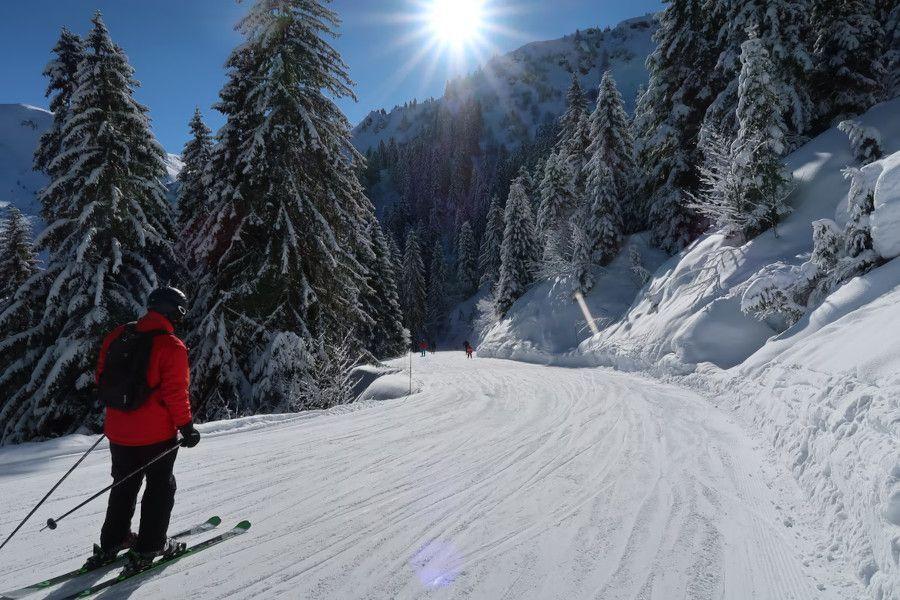Skigebieden voor beginners in Frankrijk | Les Gets