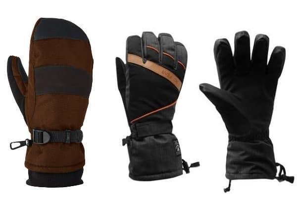 ski handschoenen en wanten