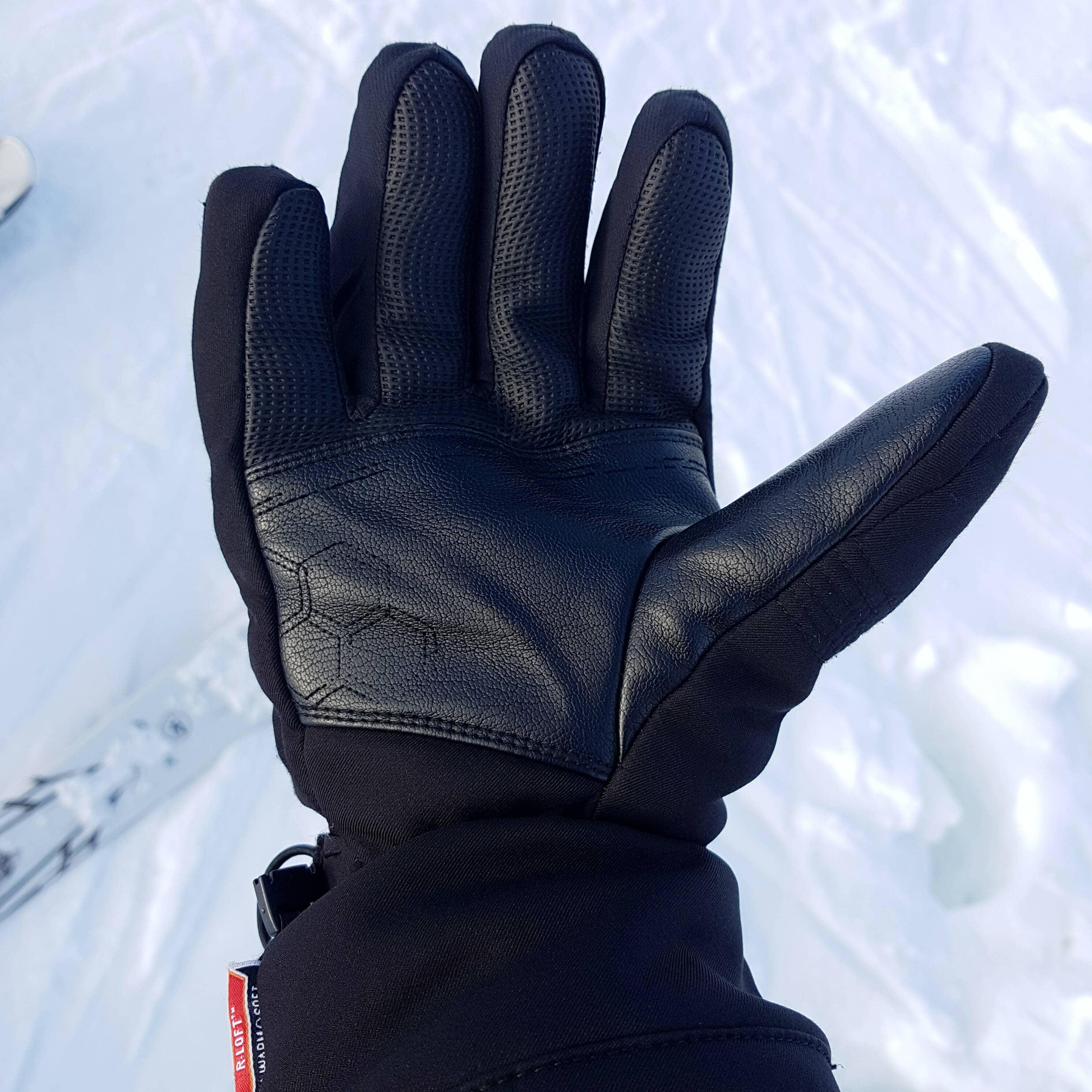 beste skihandschoenen met leren palm