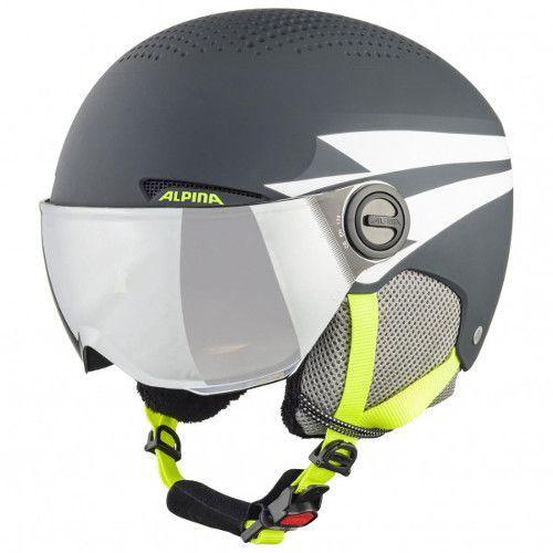 Alpine kinder skihelm voor brildragers
