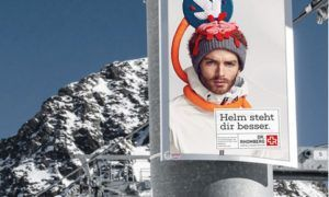 Een skihelm staat je beter…