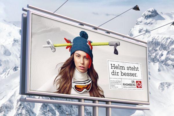 Een skihelm staat je beter...