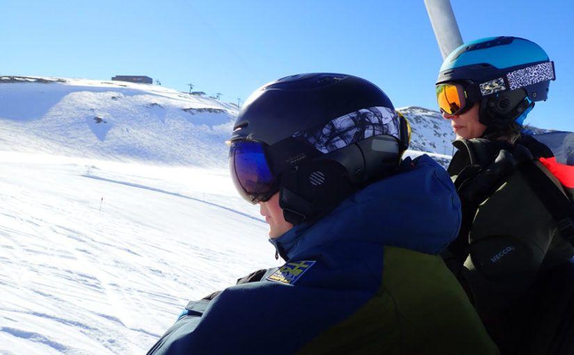 skihelm verplicht?