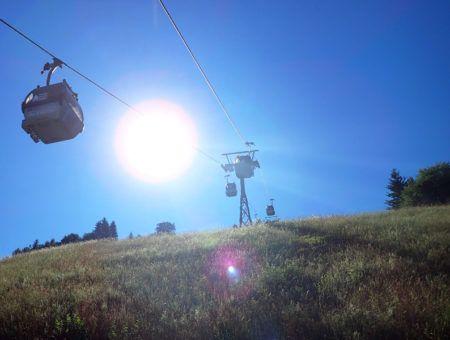Bezoek ook eens een skigebied in de zomer