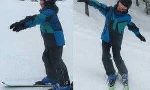 Leer beter skiën met deze simpele skioefeningen voor kinderen