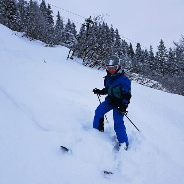 ski oefening kind