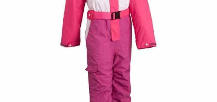 Skipak voor meisjes - skibroek en skijas in een