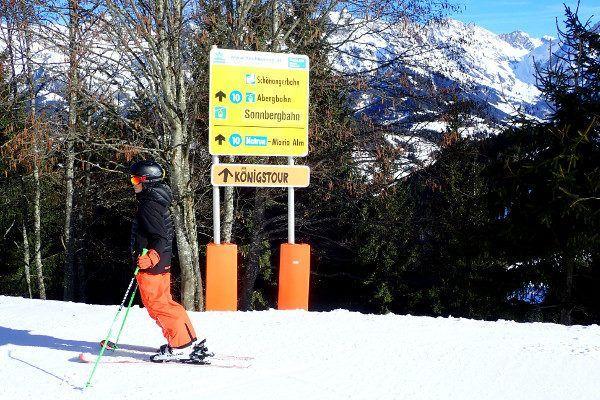 Route Maria Alm Muhlbach skironde