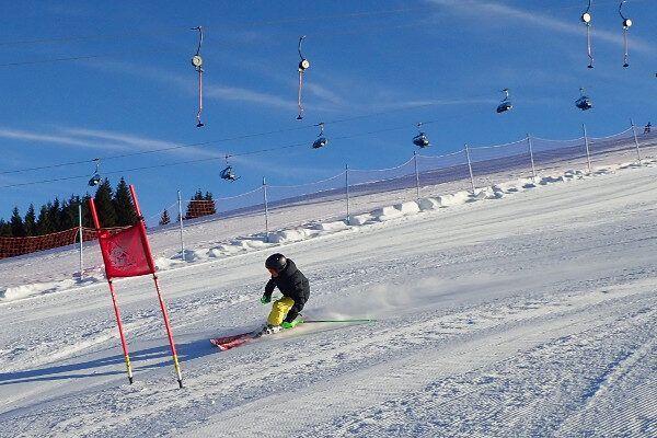 Slalom in Radstadt