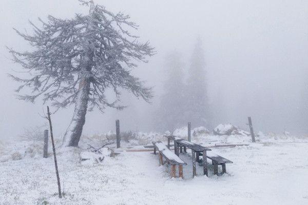 Eerste sneeuwbeelden uit Oostenrijk