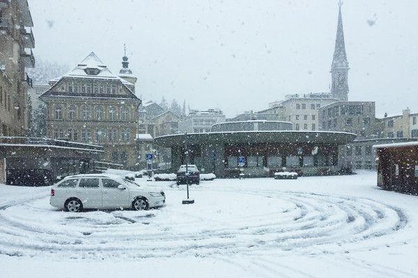Sneeuw in september 2019