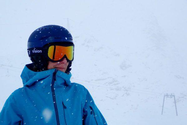 sneeuwbril op sterkte