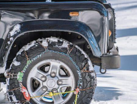 Zeker op weg naar de wintersport met sneeuwkettingen