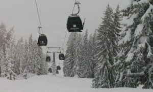 Sneeuwdump onderweg naar Oostenrijk. Valt er echt 150 cm?