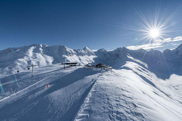 Sneeuwzeker skigebied Oetztal
