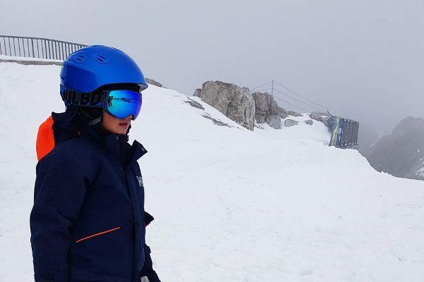 snowboardhelm kind op piste Alpina