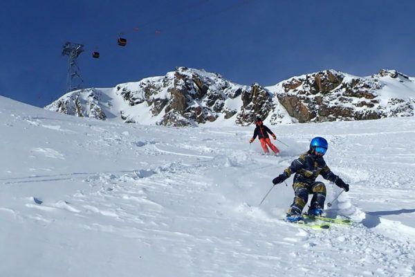 Wintersport in Stubai