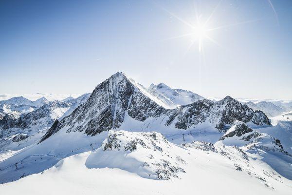 Uitzicht op Stubaier Alpen