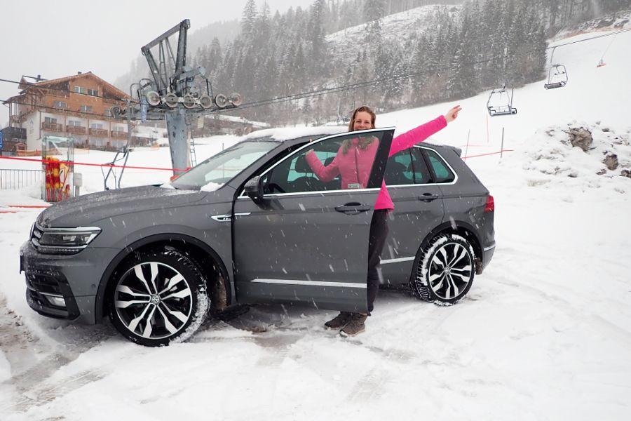 huurauto voor wintersport rondreis