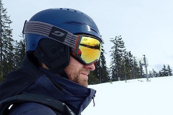 Sweet Protection skihelm switcher heeft een aangename pasvorm